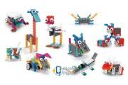 Конструктор электронный детский HIQ B711 12-в-1 173 детали (животные) (LYH-B711)