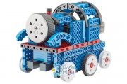 Конструктор STEM электронный HIQ B722 2-в-1 150 деталей сенсорный (машинка, поезд) (LYH-B722)
