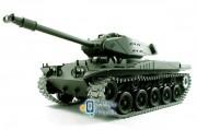 Танк на радиоуправлении 1:16 Heng Long Bulldog M41A3 с пневмопушкой и и/к боем (Upgrade) (HL3839-1UPG)