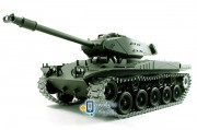Танк на радиоуправлении 1:16 Heng Long Bulldog M41A3 с пневмопушкой и и/к боем (Upgrade) (HL3839-1UPG)