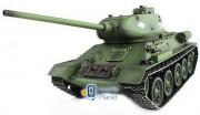 Танк на радиоуправлении 1:16 Heng Long T-34 с пневмопушкой и и/к боем (Upgrade) (HL3909-1UPG)