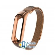 Ремешок Xiaomi Mi Band 3/4 Ribbed Strap Rose Gold