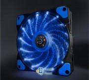 Вентилятор Frime Iris LED Fan 15LED Blue (FLF-HB120B15)