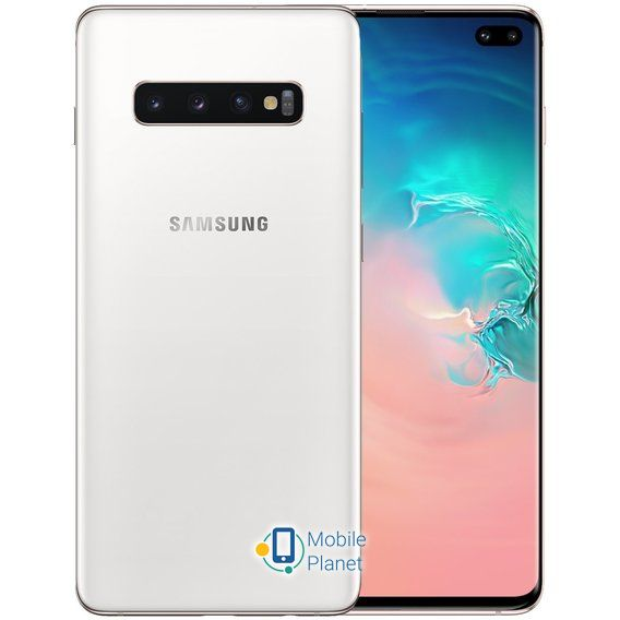 Samsung Galaxy S10+ Duos 512GB Ceramic White (SM-G975FD)