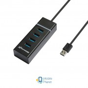 Концентратор Grand-X Travel 4 ports USB3.0 (GH-412)