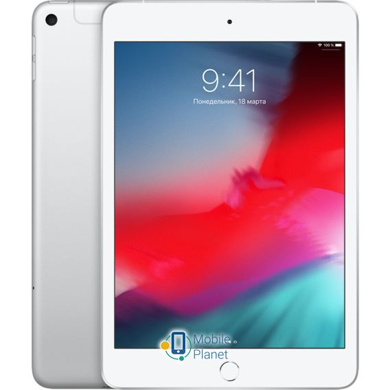 Apple iPad mini 5 2019 Wi-Fi + Cellular 64Gb Silver (MUXG2/MUX62)