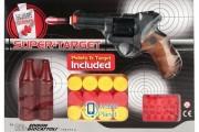 Игрушечный пистолет на пульках EDISON Supertarget 19см 6-зарядный с мишенями(480/21) (ED-0480210)