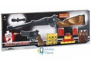 Игрушечные ружьё и пистолет на пульках EDISON Multitarget набор с мишенями(629/22) (ED-0629220)