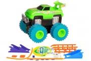 Машинка набат. Trix Trux набор с трассой (зеленый) (JLT-AS331G)