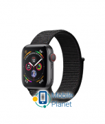 Apple Watch Series 4 (GPS Cellular) 40mm Gray Aluminum Case with Black Sport Loop (MTUH2)