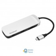 Концентратор Kingston Nucleum USB-C (C-HUBC1-SR-EN)