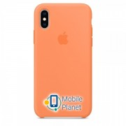Аксессуар для iPhone Apple Silicone Case Papaya (MVF22) for XS