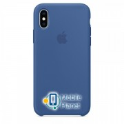 Аксессуар для iPhone Apple Silicone Case Delft Blue (MVF12) for XS