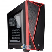 Corsair Carbide SPEC-04 Windowed Black/Red (CC-9011107-WW) без БП