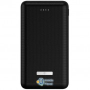 2E SOTA series Slim 20000мА/ч, DC 5V, 2USB-2.1A&2.1A, black (2E-PB2006AS-BLACK)