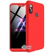 Пластиковая накладка GKK LikGus 360 градусов для Xiaomi Redmi Note 6 Pro Красный (00000026683_2)