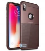 Чехол iPaky TPU+PC Dunjia для Apple iPhone XS Max (6.5) (3 цвета) цвет коричневый (00000026657_3)