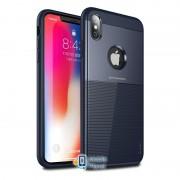 Чехол iPaky TPU+PC Dunjia для Apple iPhone XS Max (6.5) (3 цвета) цвет синий (00000026657_2)