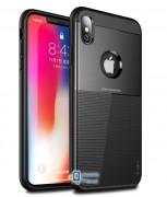 Чехол iPaky TPU+PC Dunjia для Apple iPhone XS Max (6.5) (3 цвета) цвет черный (00000026657_1)