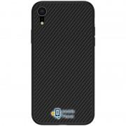 Карбоновая накладка Nillkin Synthetic Fiber series для Apple iPhone XR (6.1) , цвет черный (00000026752_1)
