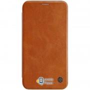 Кожаный чехол (книжка) Nillkin Qin Series для Apple iPhone XR (6.1) , цвет коричневый (00000026326_2)