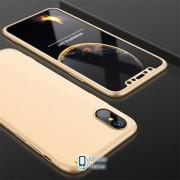 Пластиковая накладка GKK LikGus 360 градусов для Apple iPhone XR (6.1) (5 цветов) цвет золотой (00000026690_4)
