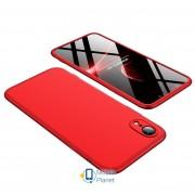 Пластиковая накладка GKK LikGus 360 градусов для Apple iPhone XR (6.1) (5 цветов) цвет красный (00000026690_1)