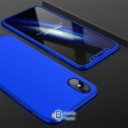 Пластиковая накладка GKK LikGus 360 градусов для Apple iPhone XR (6.1) (5 цветов) цвет синий (00000026690_5)