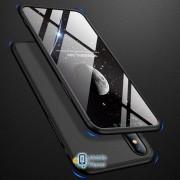 Пластиковая накладка GKK LikGus 360 градусов для Apple iPhone XS (5.8) (4 цвета) цвет черный (00000026688_1)