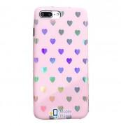 Силиконовый чехол In Love для Apple iPhone 7 / 8 (4.7) (2 цвета) цвет розовый (Бренд Rebus) (00000025197_1)