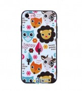 TPU чехол Animals Print Series для Apple iPhone 7 plus / 8 plus (5.5
