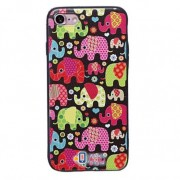 TPU чехол Animals Print Series для Apple iPhone 7 plus / 8 plus (5.5