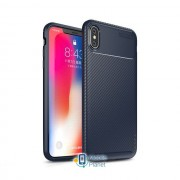 TPU чехол iPaky Kaisy Series для Apple iPhone XS Max (6.5) (3 цвета) цвет синий (00000026864_2)