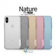 TPU чехол Nillkin Nature Series для Apple iPhone X (5.8) / XS (5.8) , цвет бесцветный (прозрачный) (00000021108_1)