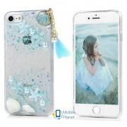 TPU+PC чехол Sea Beauty для Apple iPhone 7 / 8 (4.7) (2 цвета) цвет голубой (Бренд Rebus) (00000025182_1)