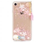 TPU+PC чехол Sea Beauty для Apple iPhone 7 / 8 (4.7) (2 цвета) цвет розовый (Бренд Rebus) (00000025182_2)