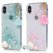 TPU+PC чехол Sea Beauty для Apple iPhone X (5.8