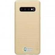 Чехол Nillkin Matte для Samsung Galaxy S10+ (Золотой) (00000028382_2)