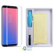 Защитное 3D стекло Mocolo с УФ лампой для Samsung G955 Galaxy S8 Plus (1 цвет) цвет прозрачное (Бренд Mocolo) (00000026144_1)