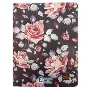 Кожаный чехол-книжка TTX (Flowers) с подставкой для Apple iPad Pro 9,7