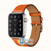 Apple Watch Hermes Series 4 (GPS Cellular) 40mm Steel Case with FEurope Epsom (H077058CJ9J)