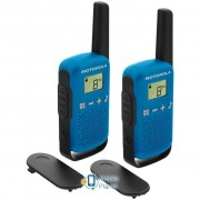 Motorola TALKABOUT T42 Blue Twin Pack (B4P00811LDKMAW)