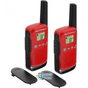 Motorola TALKABOUT T42 Red Twin Pack (B4P00811RDKMAW)