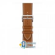 Apple Watch Hermès - 44mm Fauve Barenia Leather Single Tour Deployment Buckle (MTQF2)