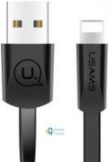 Дата кабель USAMS US-SJ199 USB to Lightning 2A (1.2m) чорний (00000028472_2)
