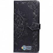 Кожаный чехол (книжка) Art Case с визитницей для Xiaomi Redmi Go черный (00000029399_6)