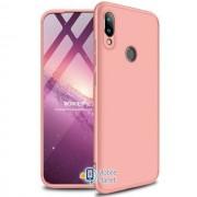 Пластиковая накладка GKK LikGus 360 градусов для Xiaomi Redmi Note 7 / Note 7 Pro / Note 7s розовый / rose gold (00000029901_3)