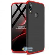 Пластиковая накладка GKK LikGus 360 градусов для Xiaomi Redmi Note 7 / Note 7 Pro / Note 7s черный / красный (00000029901_7)