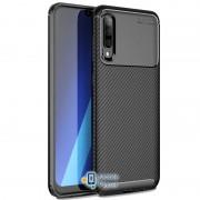 TPU чехол iPaky Kaisy Series для Samsung A505F Galaxy A50 черный (00000029529_3)