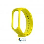 Ремешок Xiaomi Mi Band 3/4 Ribbed Strap Yellow